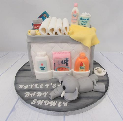 Baby Changing Bag Cake - Baby Shower - Rossendale