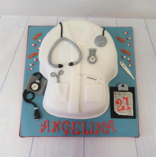 Nurses Tunic/Uniform Cake - Rossendale