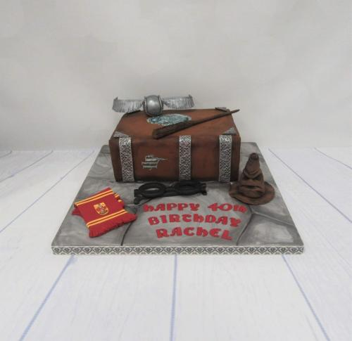 Harry Potter Book Birthday Cake.