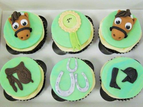 Horse themed Cupcakes.