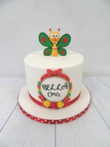 Baby TV Baby Butterfly Cake.